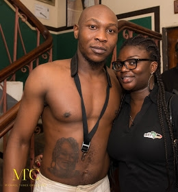 Seun Kuti Shows Off His Stomach Tattoo At A London Concert [See Photos]